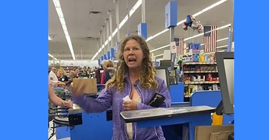 "Woman ""Coughs & Spits"" on Walmart Cashier After Not Paying Her Entire Bill"
