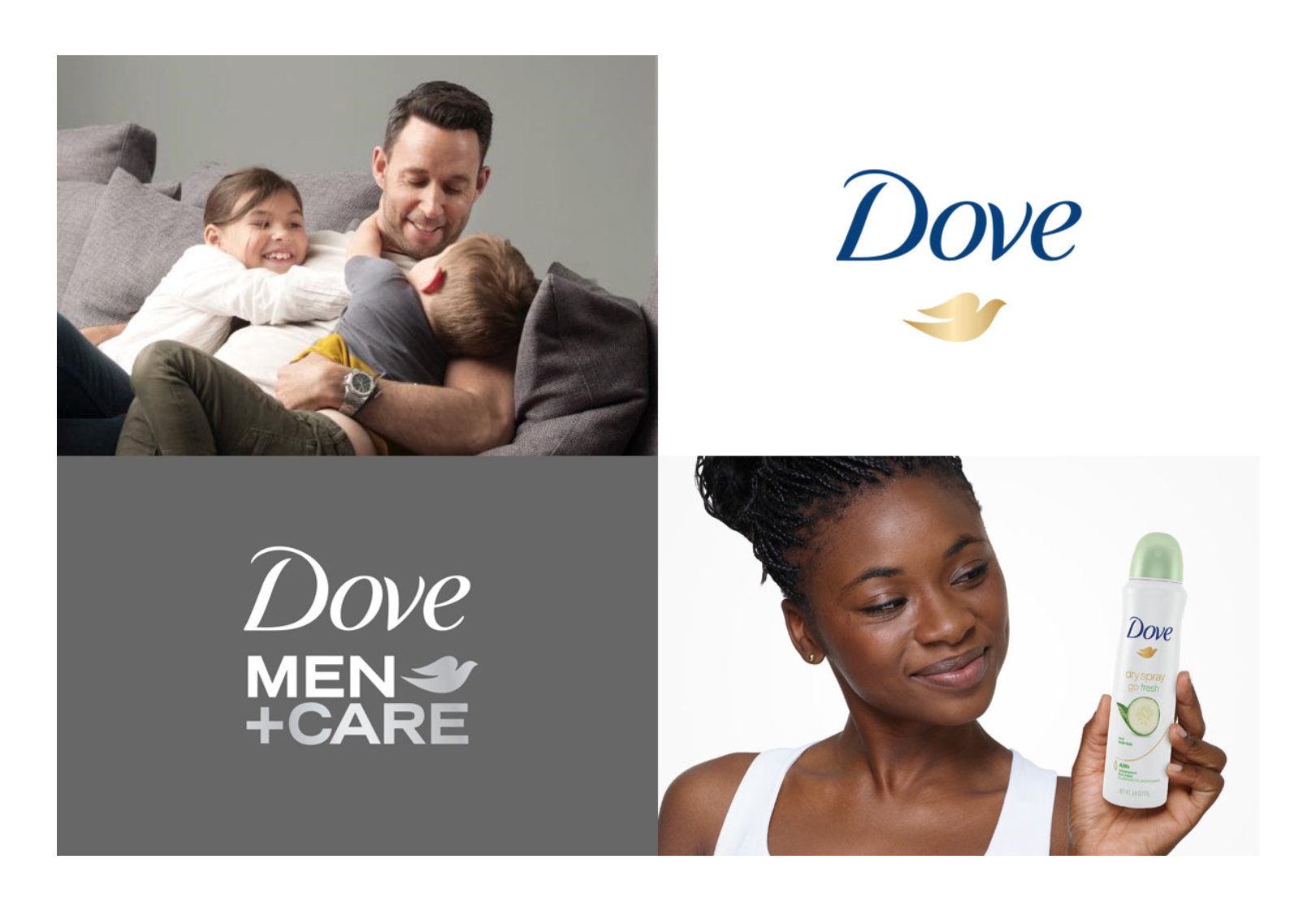 FREE DOVE DRY ANTIPERSPIRANT